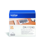 Brother DK-11240 P-Touch Etikettes, 102mm x 51mm, 600