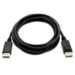 V7 Mini DisplayPort macho a DisplayPort macho, 1 metro, especificación DisplayPort 1.3, hasta 4K, resolución de vídeo de 3840 x 2160