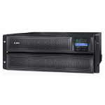 APC Smart-UPS Line-Interactive 2200VA Rackmount/Tower Black,Stainless steel