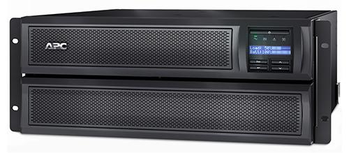 APC Smart-UPS Line-Interactive 2200VA Rackmount/Tower Black,Stainless steel