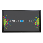 """Infocus BigTouch INF6512 2.8GHz i7-6700T 65"""" 1920 x 1080pixels Touch screen Black"""