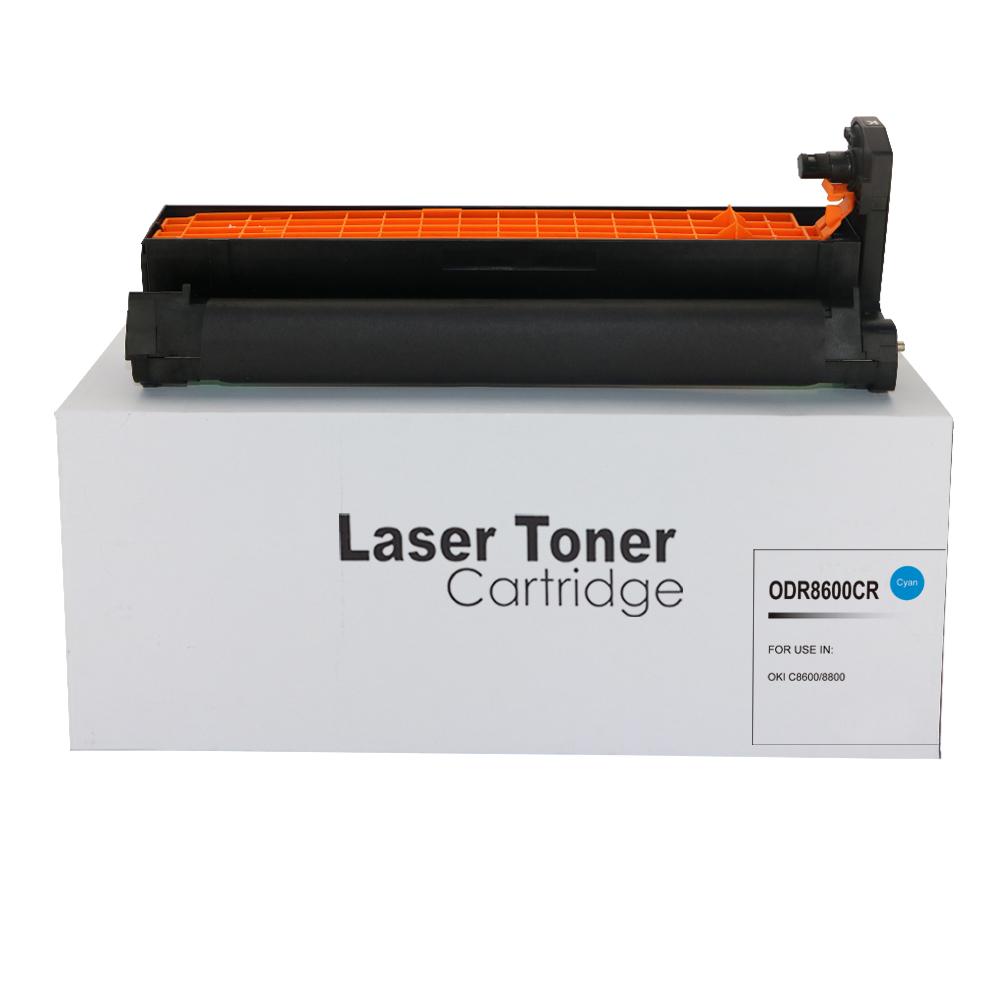 Remanufactured OKI 43487711 Cyan Toner Cartridge