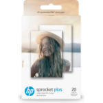 HP Sprocket Plus pak fotopapier Wit Glans