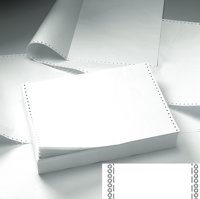 Integrity Print Value Integrity Listing Paper 11x241 60gsm Plain Perf BX2000