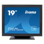 "iiyama ProLite T1931SAW-B5 touch screen monitor 48.3 cm (19"") 1280 x 1024 pixels Black Single-touch"