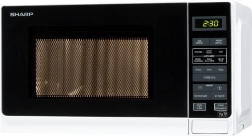 Sharp R-272WM microwave Countertop 20 L 800 W White