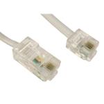 TARGET RJ11 (M) to RJ45 (M) 3m White OEM Cable