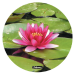 Fellowes Mat Waterlilly Green mouse pad