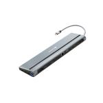 Canyon CNS-HDS09B interface hub USB 3.2 Gen 1 (3.1 Gen 1) Type-C 5000 Mbit/s Black, Grey