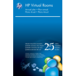 HP Virtual Rooms (up to 25 people in one meeting) License