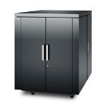 APC NetShelter CX 18U rack Freestanding rack Grey
