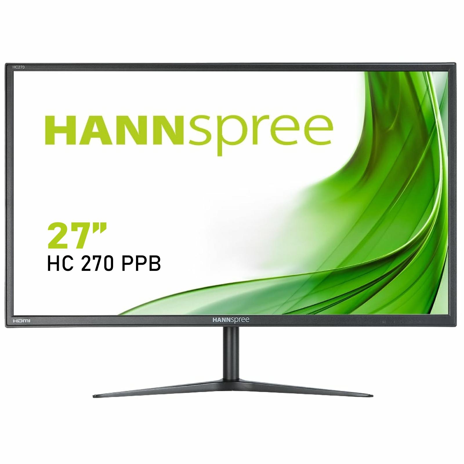 "Hannspree HC 270 PPB 68.6 cm (27"") 1920 x 1080 pixels Full HD LED Black"