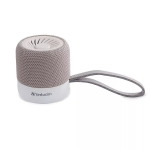 Verbatim 70232 portable speaker 3 W Stereo portable speaker Grey,White