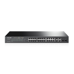 TP-LINK T1500-28PCT network switch Managed L2 Fast Ethernet (10/100) Black 1U Power over Ethernet (PoE)