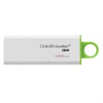 Kingston Technology DataTraveler G4 USB flash drive 128 GB USB Type-A 3.2 Gen 1 (3.1 Gen 1) Green,White