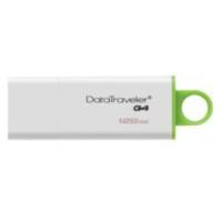 KINGSTON TECHNOLOGY DATATRAVELER G4 USB FLASH DRIVE 128 GB USB TYPE-A 3.2 GEN 1 (3.1 GEN 1) GREEN,WHITE