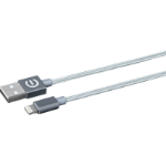 eSTUFF 1m USB/Lightning 1m USB A Lightning Grey mobile phone cable