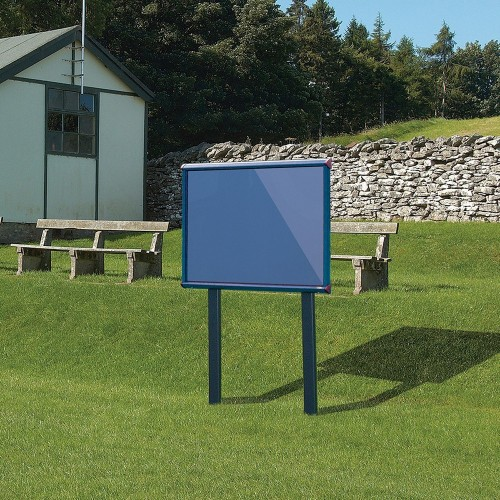 Metroplan SCES18/BK/AG insert notice board