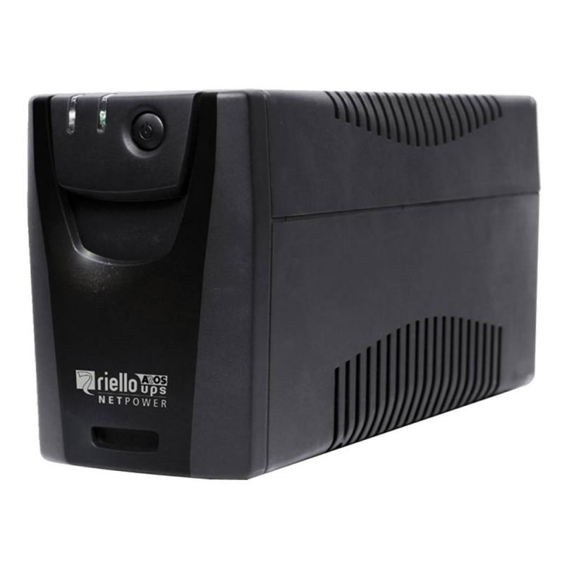Riello NPW 800 S sistema de alimentación ininterrumpida (UPS) 800 VA 360 W 4 salidas AC
