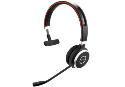 Jabra Evolve 65 UC Mono Monaural Head-band Black