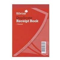 Silvine RECEIPT BK 2.5X4 GUMMED DUP 228