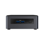 Intel NUC BLKNUC7I3DNHNC3 PC/workstation 7th gen Intel® Core™ i3 i3-7100U 4 GB DDR4-SDRAM 1000 GB HDD UCFF Black Mini PC Windows 10 Pro