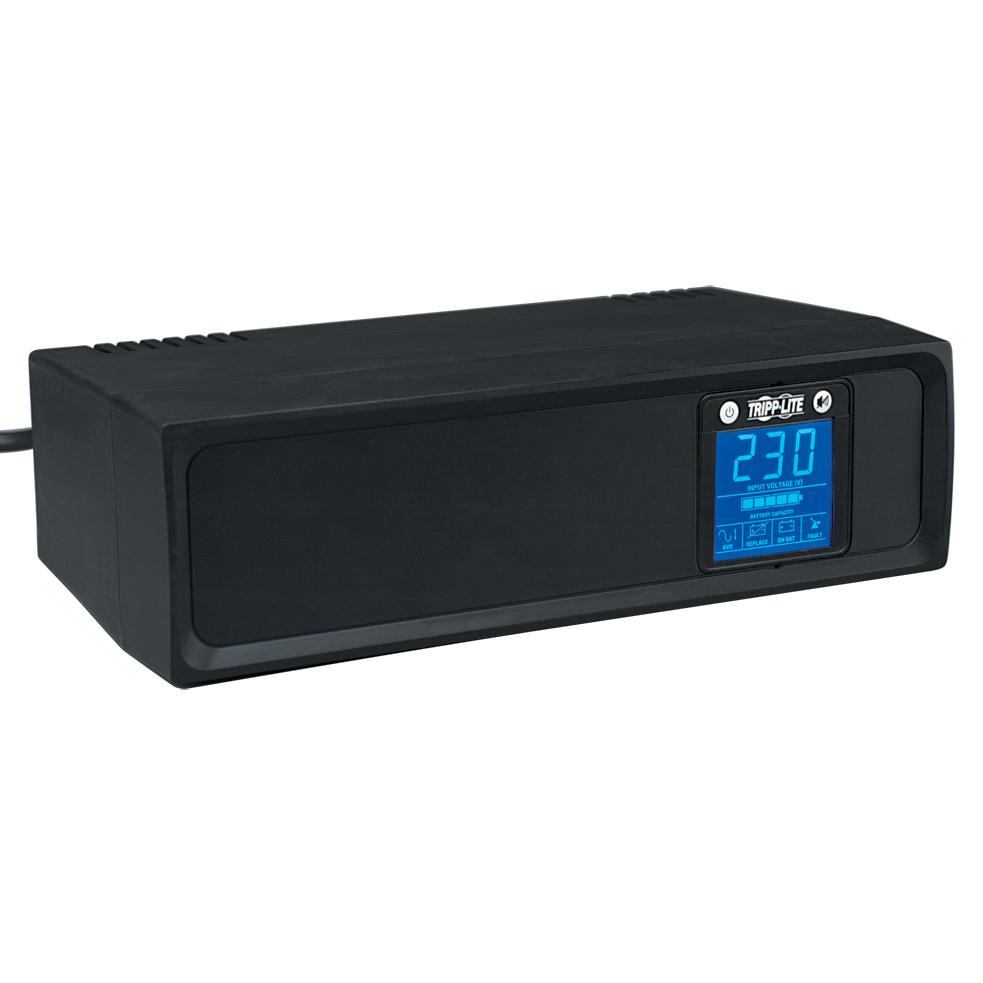 Tripp Lite SmartPro 230V 1kVA 500W Line-Interactive UPS, Tower, LCD, USB, 6 Outlets