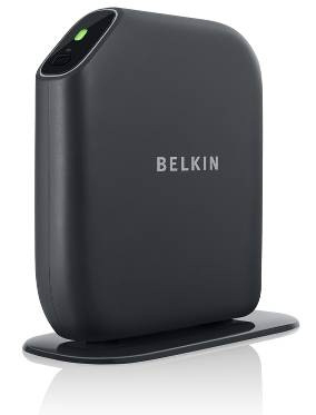 Belkin Share Wireless Modem Router (802.11n, 300 Mbps) with Easy Set Up, Self Healing, High-speed Internet