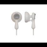 Panasonic RP-HV41PP Color blanco Intraaural Dentro de oído auricular