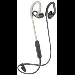 Plantronics BackBeat Fit 350 Auriculares gancho de oreja, Dentro de oído Gris, Blanco