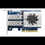 QNAP QXG-10G2SF-CX4 netwerkkaart & -adapter Ethernet 1000 Mbit/s Intern