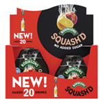 Robinsons Squash'D No Added Sugar 66ml Orange & Peach Ref 0402040 [Pack 6]
