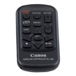 Canon WL-D89 IR Wireless press buttons Black remote control