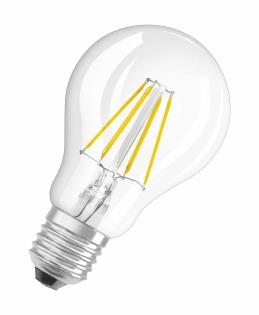 Osram LED Retrofit CLASSIC A LED bulb Warm white 4 W E27 A++