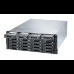 QNAP TS-h2483XU-RP NAS Rack (4U) Ethernet LAN Black E-2236