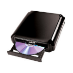 I/OMagic IDVD24DLE DVD Super Multi DL Black optical disc drive