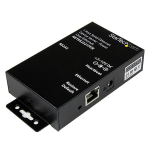 StarTech.com 1 Port RS232 Serial Ethernet Device Server - PoE Power Over Ethernet serial server