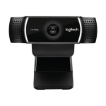 Logitech C922 Pro Stream 1920 x 1080pixels USB Black webcam