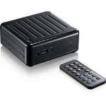 Asrock Beebox S 7100U/B/BB 2.4GHz i3-7100U 0.6L sized PC Black