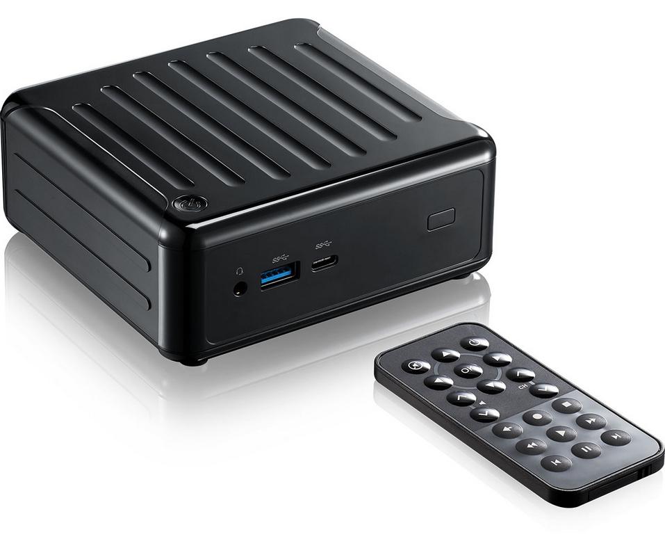 Asrock Beebox S 7100U/B/BB 2.4GHz i3-7100U 0.6L sized PC Black