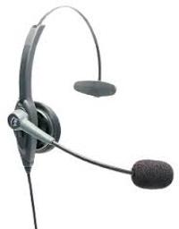 VXi VR11 Monaural Head-band headset
