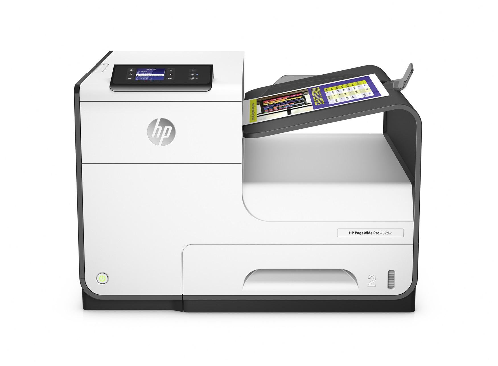 HP PageWide Pro 452dw Colour 2400 x 1200DPI A4 Wi-Fi Grey