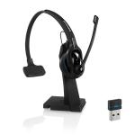 Sennheiser MB Pro 1 UC Monaural Head-band Black headset
