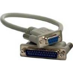 Microconnect IBM038A 25pin 9pin cable interface/gender adapter