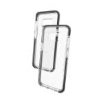 "GEAR4 Piccadilly mobiele telefoon behuizingen 14,7 cm (5.8"") Hoes Zwart, Transparant"