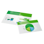 GBC Document Laminating Pouches A4 2x125 Micron Gloss (100)