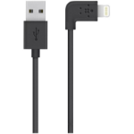 Belkin Flat Lightning 1.2m USB A Lightning Black mobile phone cable