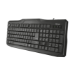 Trust CLASSICLINE KEYBOARD teclado USB QWERTY Español Negro