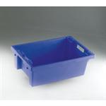 FSMISC STACK/NEST BOX 600X400X200MM BLUE  E