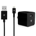 V7 AC30024ACLT-BLK-2N mobile device charger Indoor Black